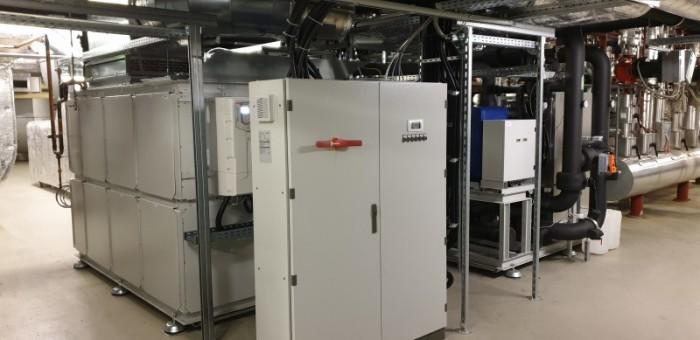 Technikzentrale Wärme-/Kältekopplung